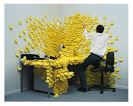 post-it-desk-art